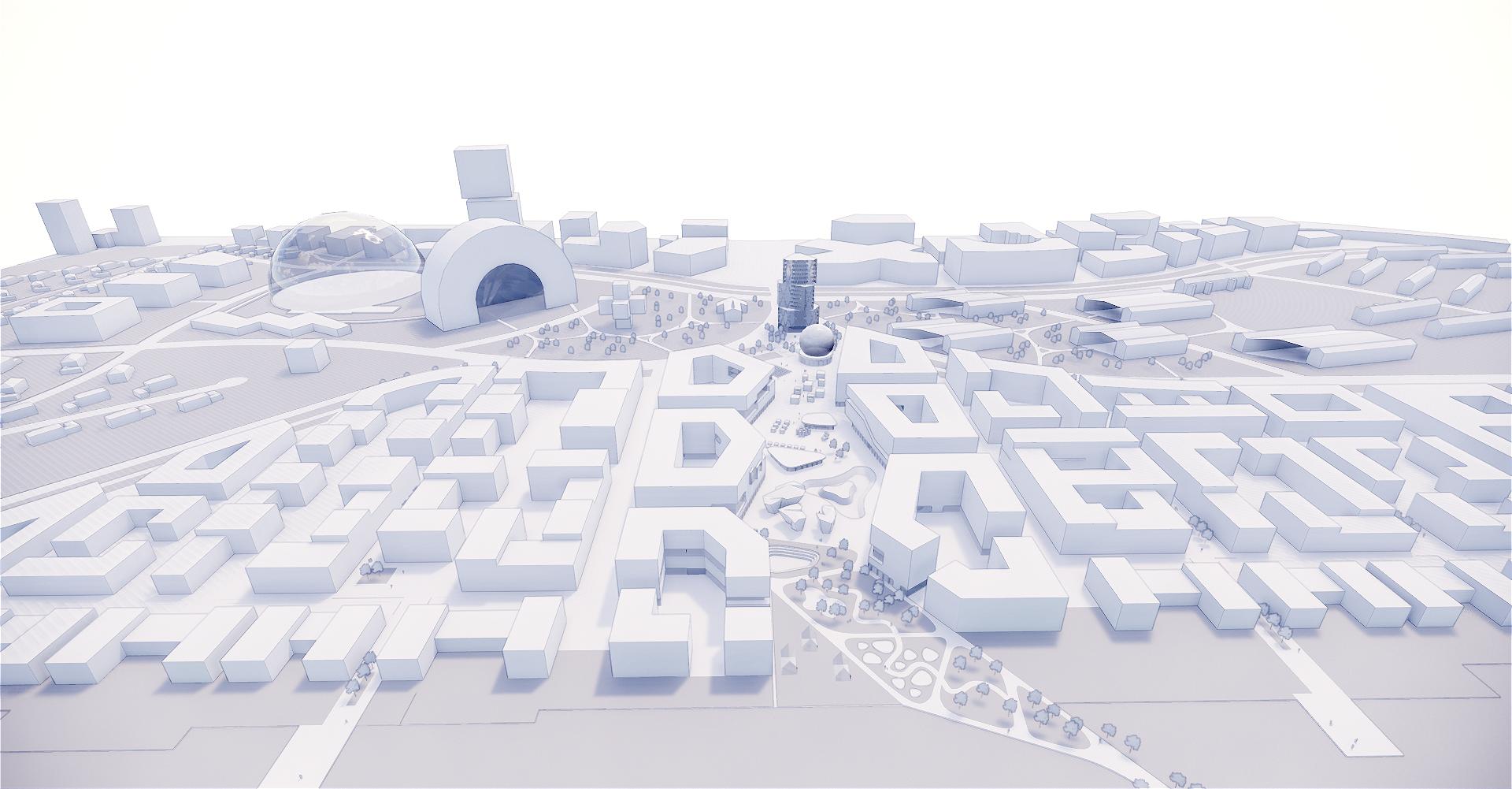 Digitales Entwerfen von Stadt